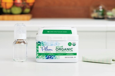 The only product of its kind on the market, Plum's Organic Infant Formula is unique in that it uses organic lactose as its only carbohydrate rather than the industry standard of adding corn syrup solids.