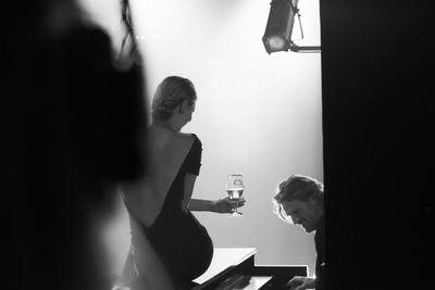 Behind the Scenes at Stella Artois Timeless Beauty Campaign Shoot.  (PRNewsFoto/Stella Artois)