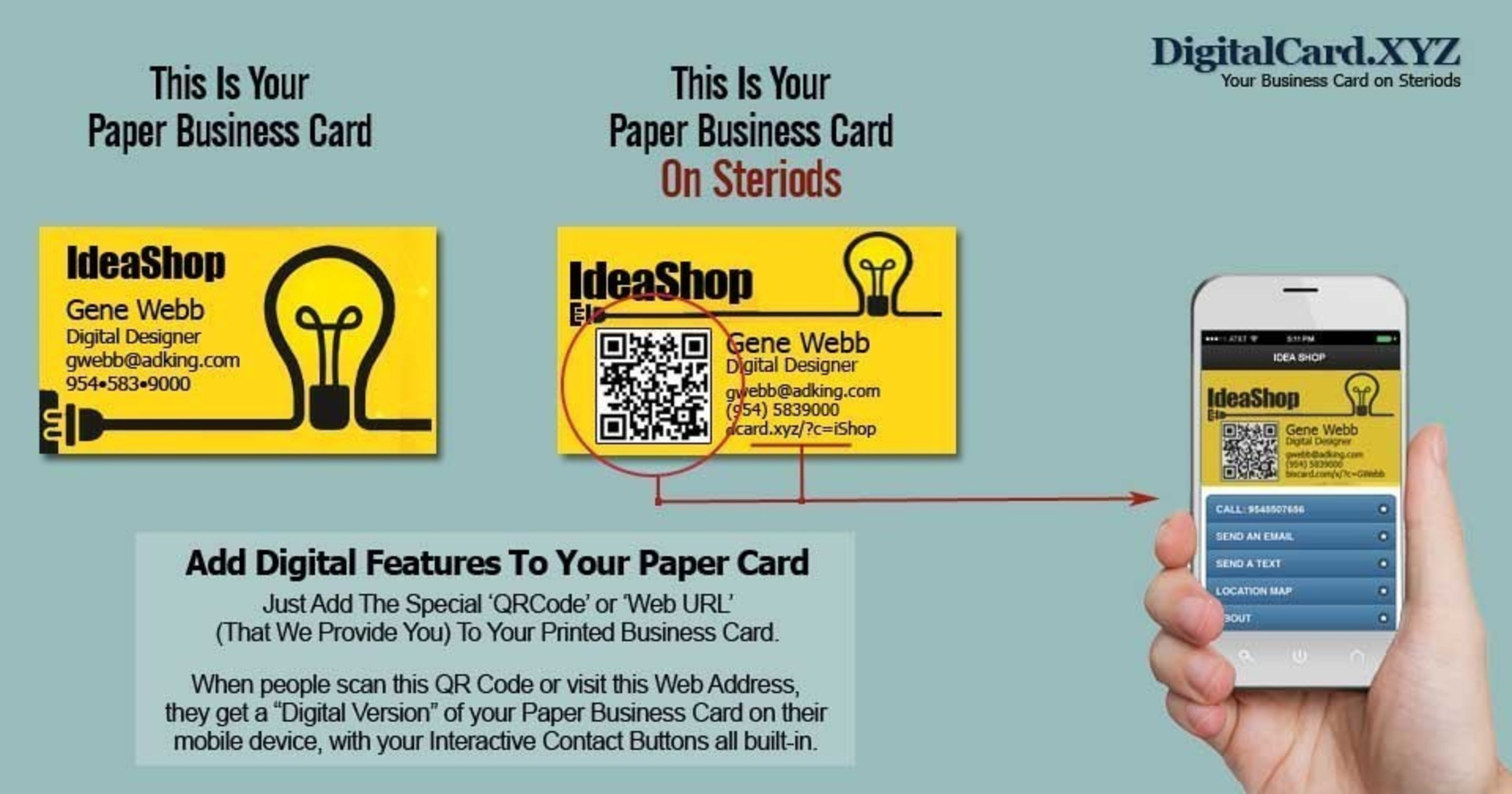 New Digital Business Card Launched