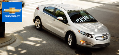The 2014 Chevy Volt, a fully-electric, zero-emissions car, is currently available at Bill Stasek Chevrolet. (PRNewsFoto/Bill Stasek Chevrolet)
