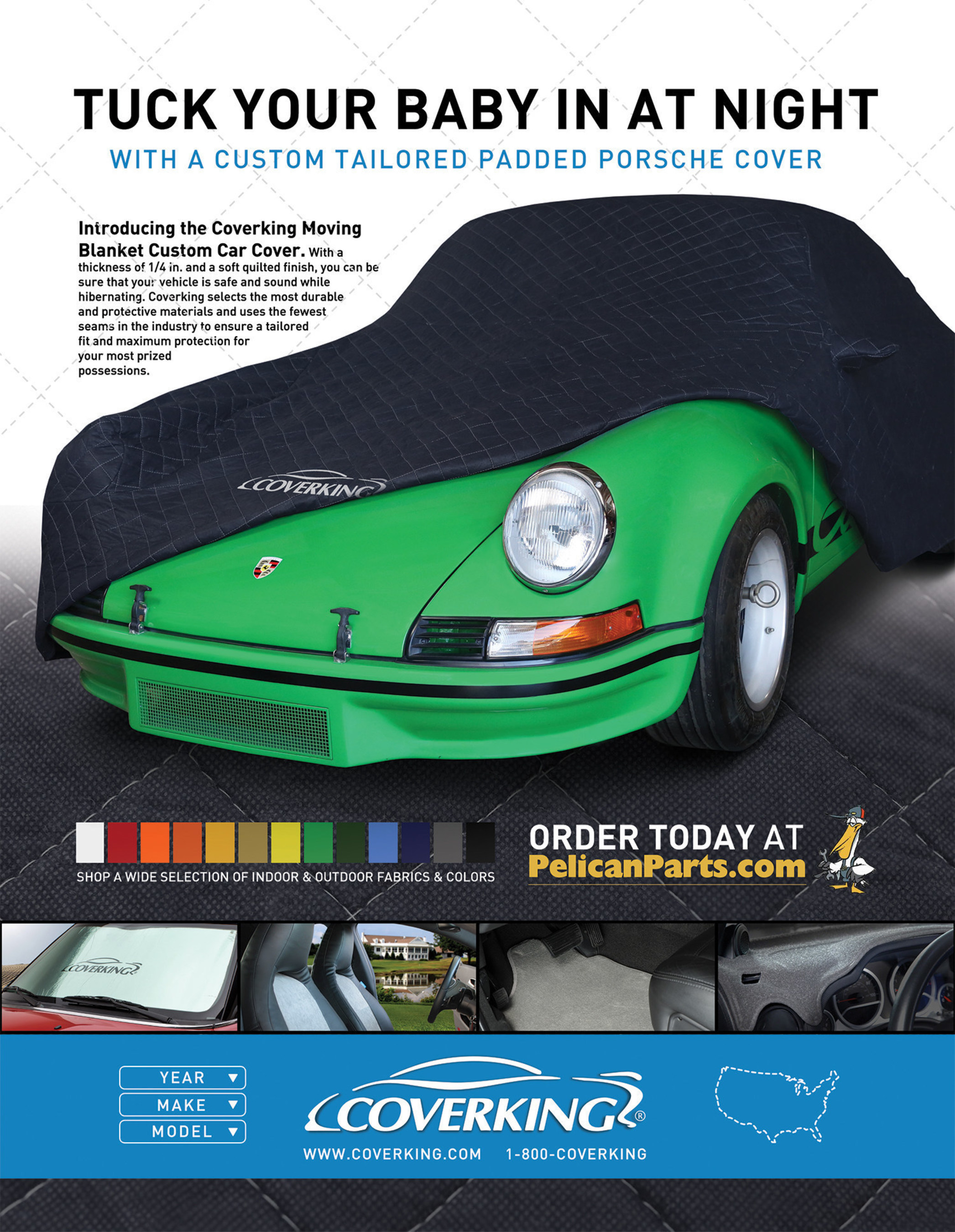 Introducing GarageGuard from Coverking, exclusively available at www.PelicanParts.com
