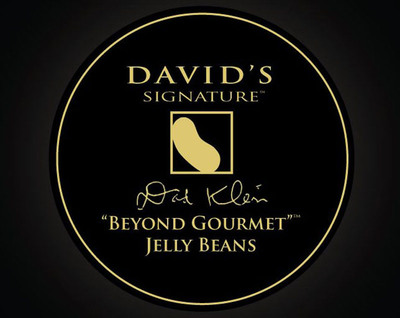 """David's Signature """"Beyond Gourmet"""" Jelly Beans(R) are the first true, """"beyond gourmet"""" product on the market.  It's the first confectionary product of its kind: blending exotic cuisine and luxury candy. (PRNewsFoto/Leaf Brands, LLC)"""