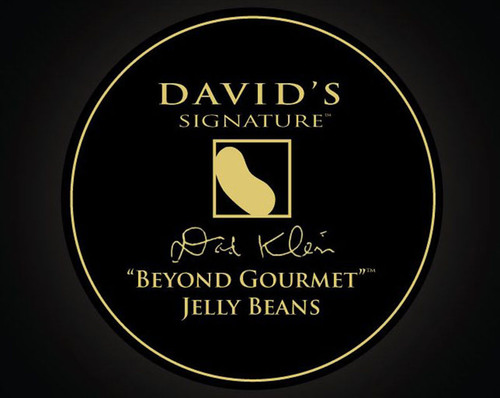 """David's Signature """"Beyond Gourmet"""" Jelly Beans(R) are the first true, """"beyond gourmet"""" product on the market. It's the first confectionary product of its kind: blending exotic cuisine and luxury candy. (PRNewsFoto/Leaf Brands, LLC) (PRNewsFoto/LEAF BRANDS, LLC)"""