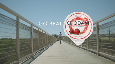 New Chobani Go Real Advertisement