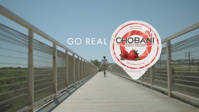 New Chobani Go Real Advertisement