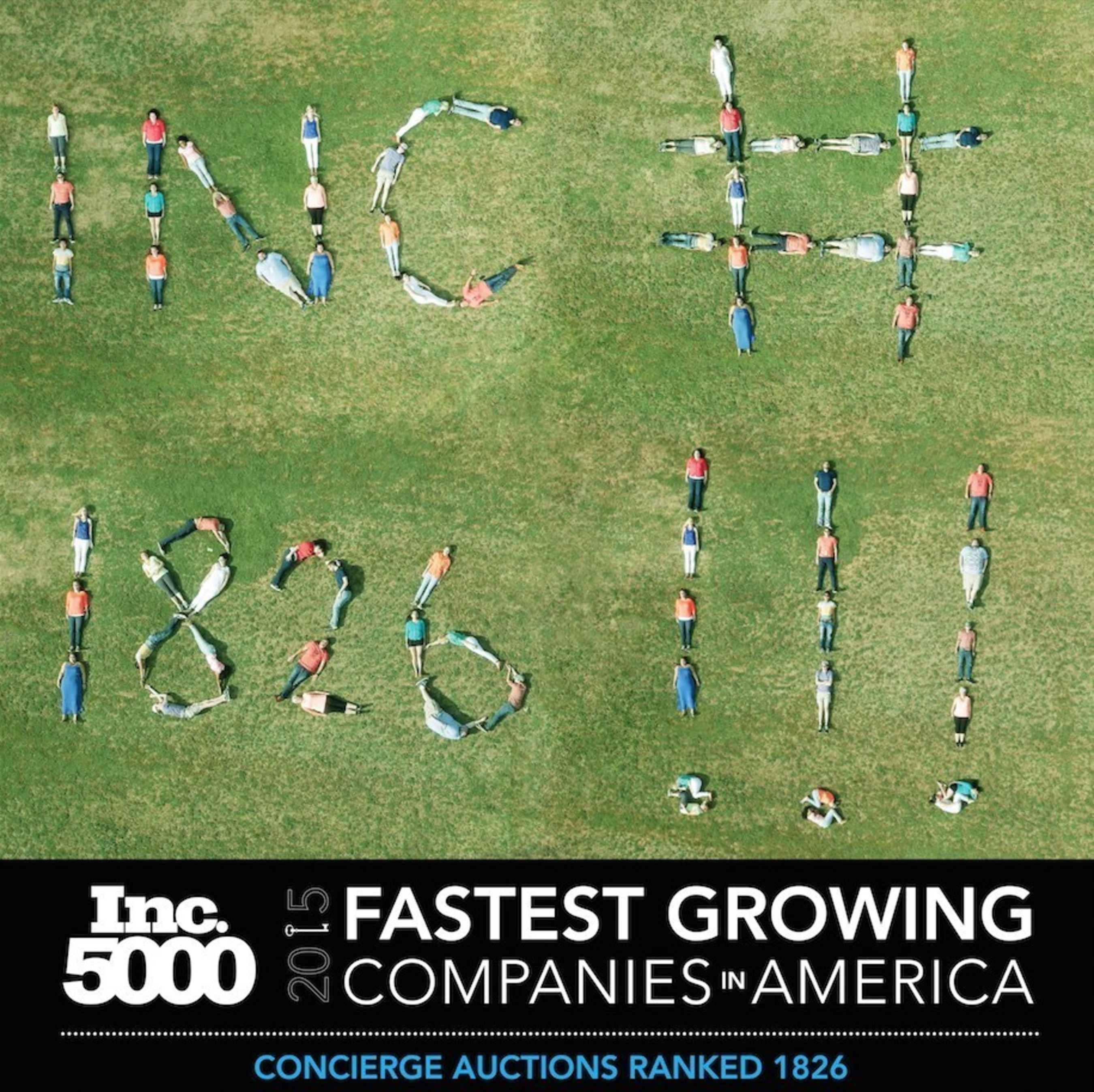Inc. Magazine Names Concierge Auctions One Of America's Fastest Growing Companies For The Second