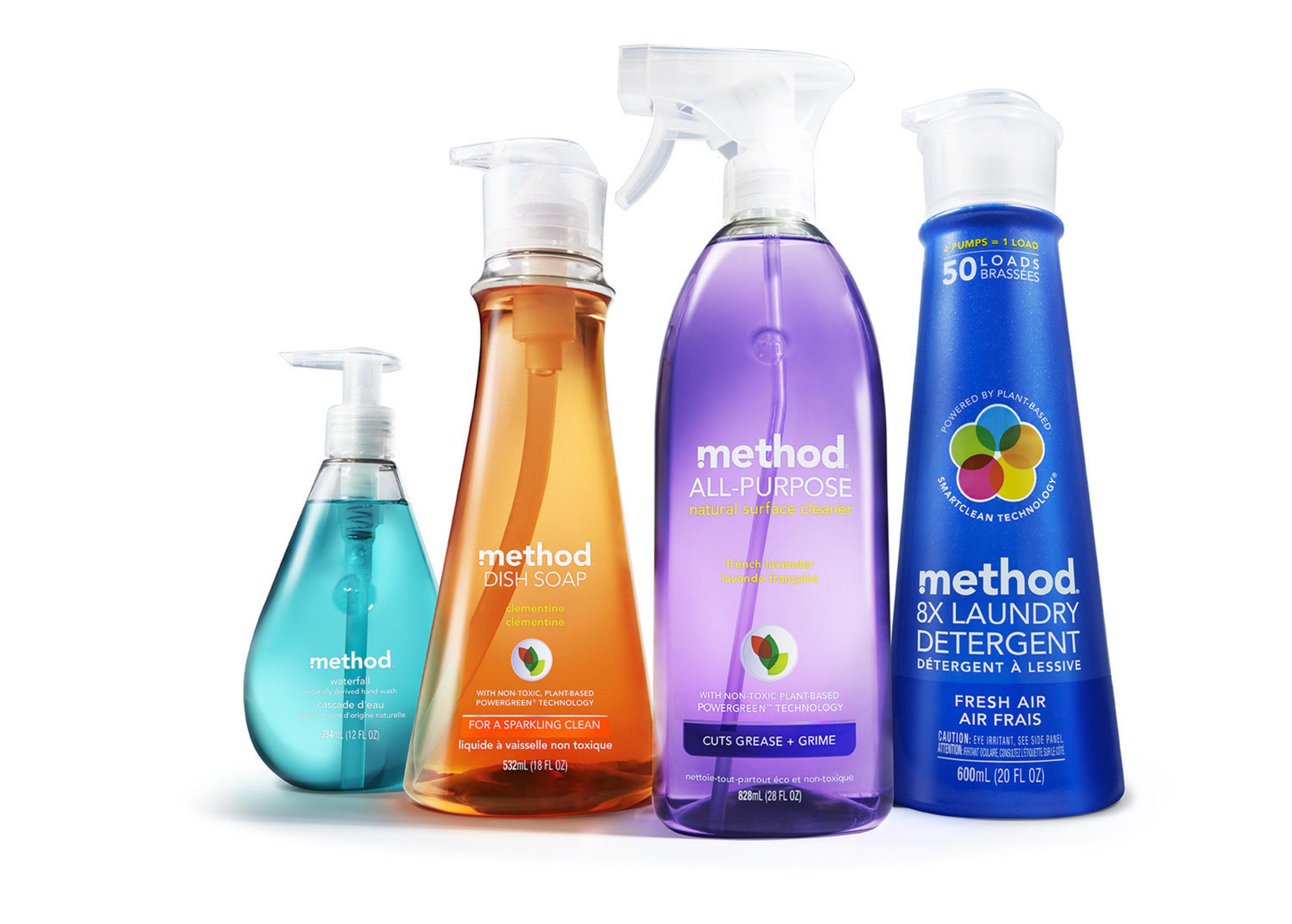 Method's hero products.