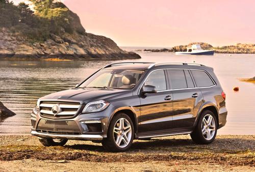 All-New 2013 Mercedes-Benz GL-Class Wins Prestigious Motor Trend Sport/Utility of the Year® Award