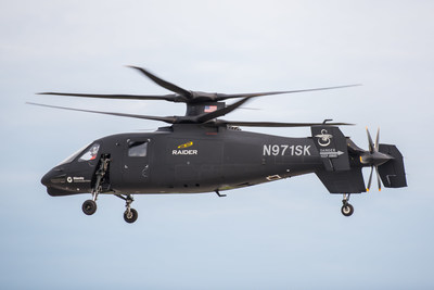 The S-97 RAIDER(TM) helicopter will be on static display publicly for the first time when the aircraft makes its debut at the Association of United States Army exhibition Oct. 12-14 at the Walter E. Washington Convention Center in Washington, D.C.