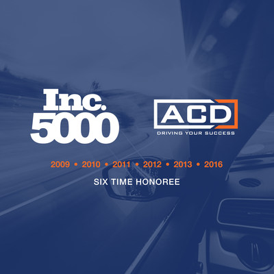 ACD Named Six Time Honoree