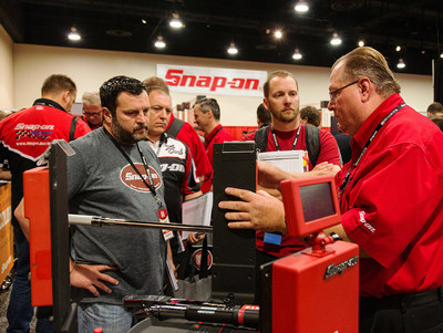 More than 8,000 attendees took part in this year's Snap-on Franchisee Conference, including tours of the product expo, where they learned directly from those who develop and produce the tools most preferred by technicians.