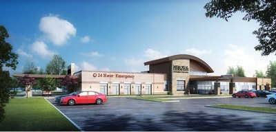 Rendering of Memorial Hermann Convenient Care Center in League City