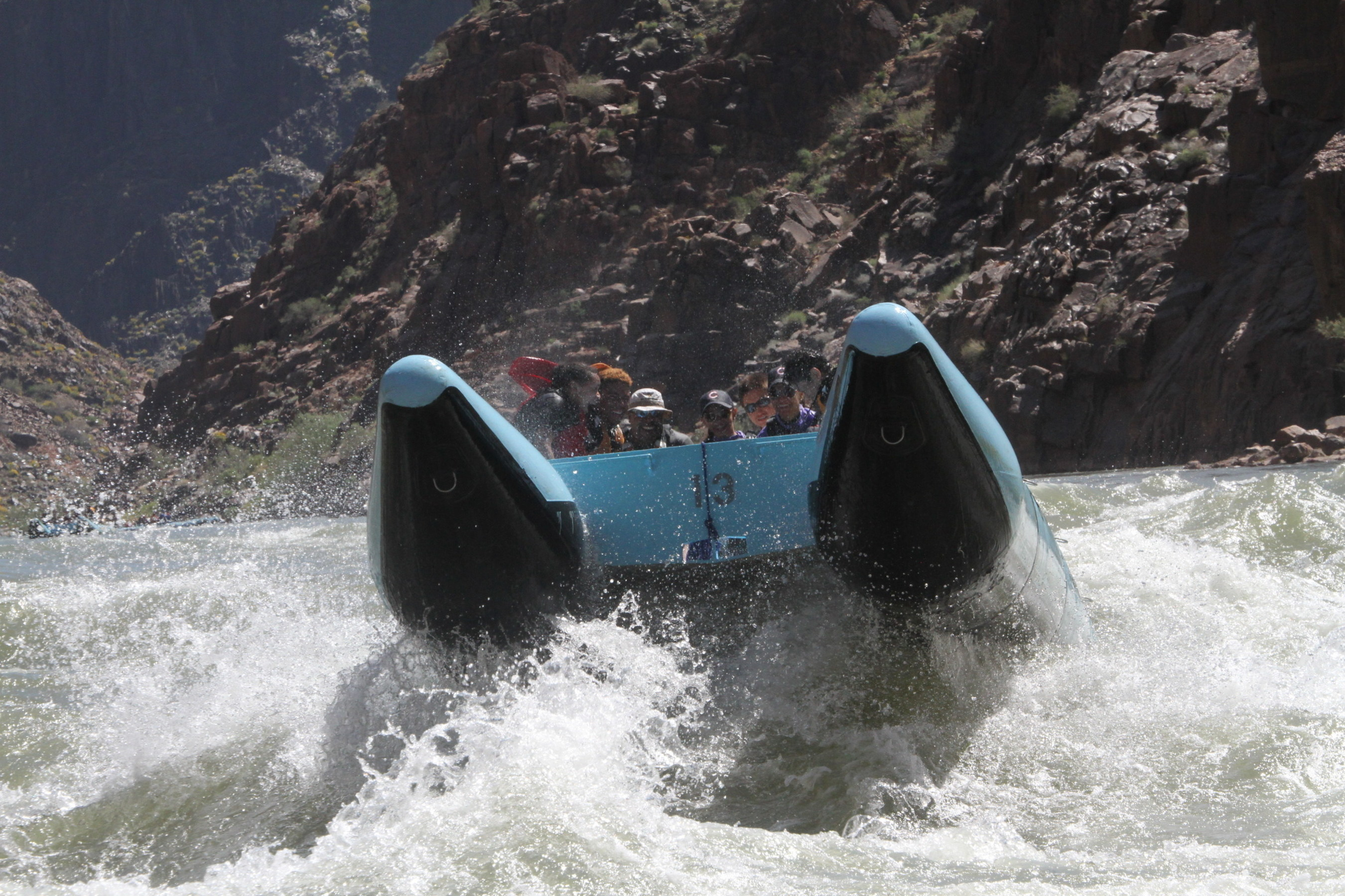 The Grand Canyon West Family Bucket List contest runs until 8/31/16. One family of up to 4 people will win a free adventure rafting the Colorado River through the Grand Canyon led by the Hualapai River Runners' experienced guides.