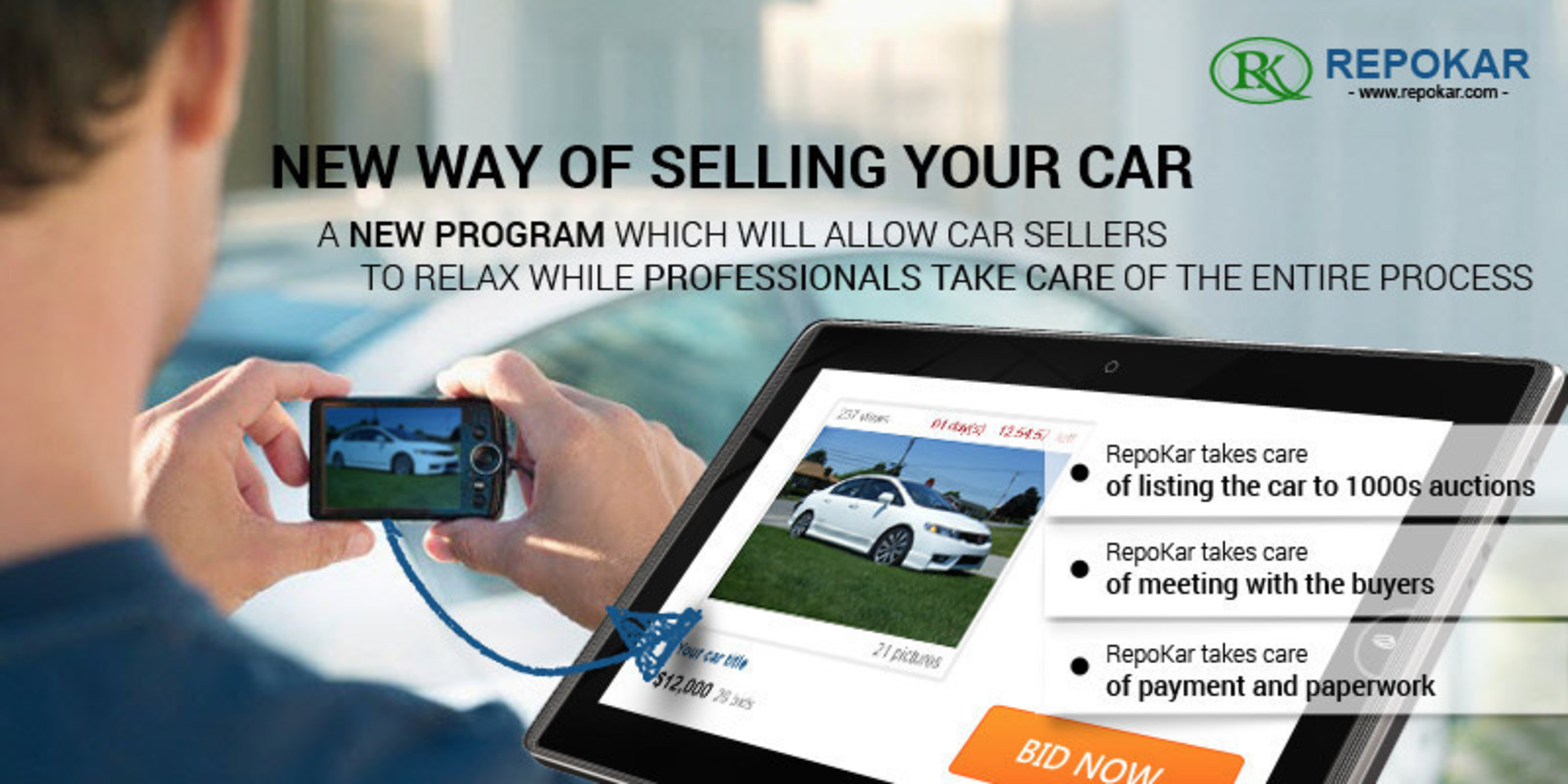 Popular Public Auto Auction Company Repokar Introduces New Program To Offer Stress Free Experience In Selling Your Car