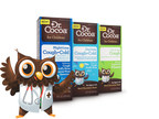 New Dr. Cocoa(TM) for Children provides cough and cold relief ... with a smile.  Dr. Cocoa(TM) for Children is the first-ever cough and cold medicine for kids made with trusted, effective ingredients and 10% real cocoa for a real chocolate taste. Available in three patented formulas: Dr. Cocoa(TM) Long-Acting Cough Relief, Dr. Cocoa(TM) Daytime Cough Cold Relief, and Dr. Cocoa(TM) Nighttime Cough Cold Relief. Visit www.drcocoa.com and connect with us at www.facebook.com/DrCocoaforChildren (PRNewsFoto/Dr. Cocoa for Children)