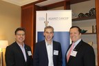 Jeffery Goffman, CEO Integrated Oncology Network, Kevin Demoff, COO Los Angeles Rams and David Veneziano, EVP American Cancer Society CA Division, at the CEOs Against Cancer meeting in Southern California.