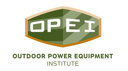 Outdoor Power Equipment Institute (OPEI) logo (PRNewsFoto/OPEI) (PRNewsFoto/OPEI) (PRNewsFoto/OPEI)