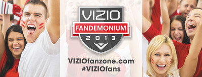 VIZIO Launches Fandemonium, an Online Social Community Dedicated to the Search for the Ultimate Fan.  (PRNewsFoto/VIZIO, Inc.)