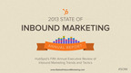 HubSpot's State of Inbound Marketing Report.  (PRNewsFoto/HubSpot)