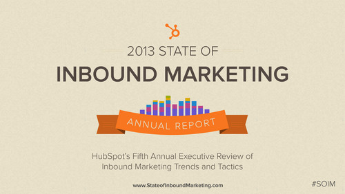 HubSpot Releases 5th Annual State of Inbound Marketing Report