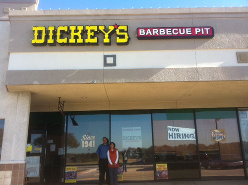 Dickey's Barbecue Pit opens new location in Carrollton, Texas.  (PRNewsFoto/Dickey's Barbecue)