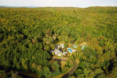 The property features nearly a mile of Neversink River frontage and is a compelling investment and development opportunity (PRNewsFoto/Concierge Auctions)