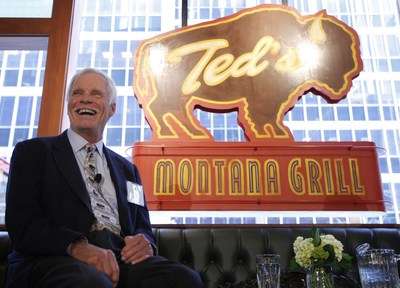 Ted Turner, co-founder of Ted's Montana Grill