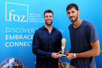 Omri Casspi receives the Defender of Zion award for supporting Israel and combating BDS