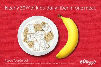 Love Your Cereal.  (PRNewsFoto/Kellogg Company)