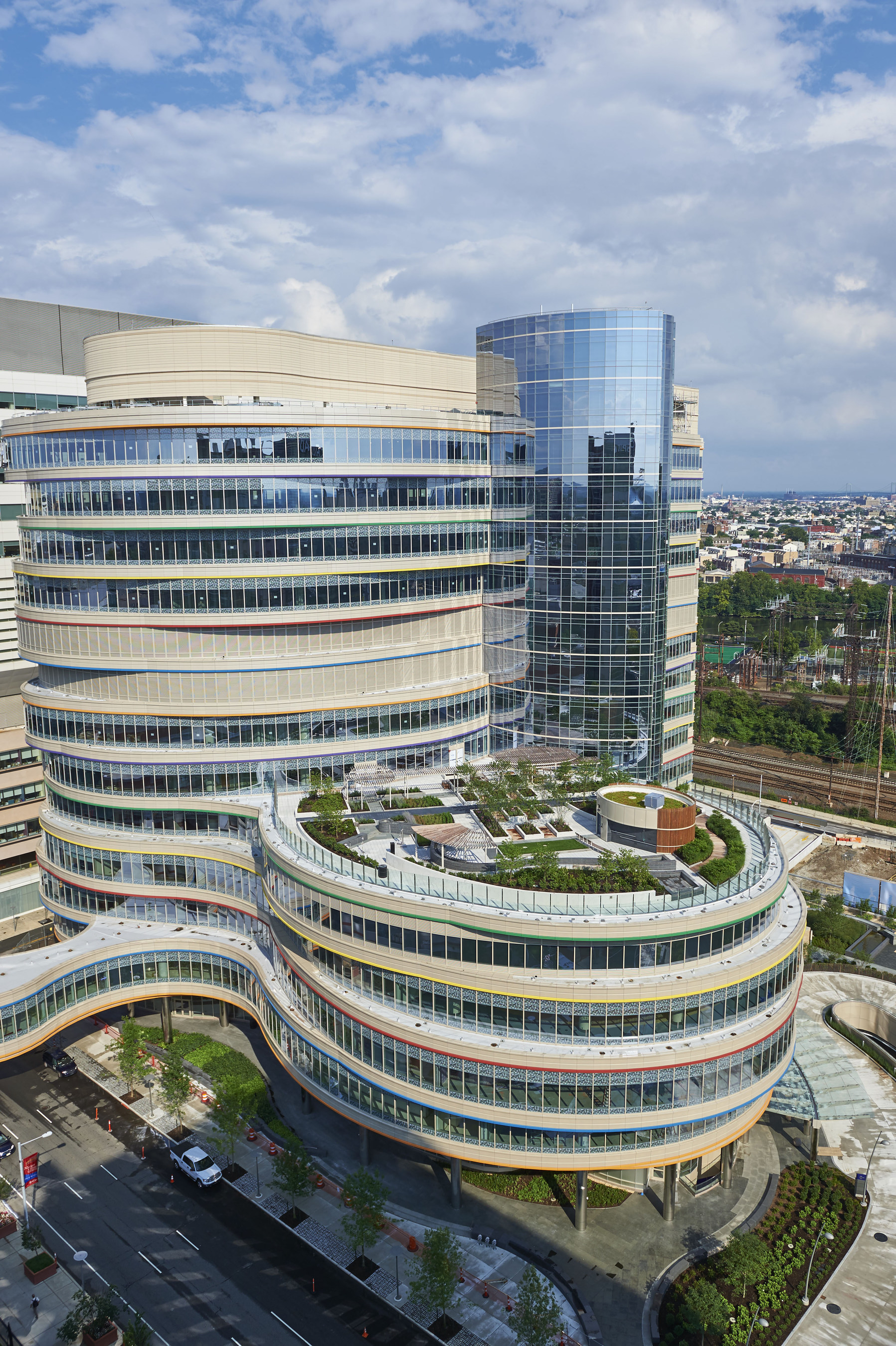 The Children's Hospital of Philadelphia's New Buerger Center for Advanced Pediatric Care Opens on July 27, 2015. Building on Family Input, 12-Story Facility is the Most Advanced Outpatient Pediatric Facility in U.S.