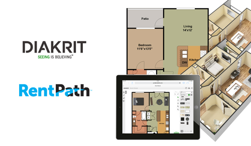 3D Floor Plans and Room Planner Applications Enhance Consumer Search Experience (PRNewsFoto/DIAKRIT International Ltd.)