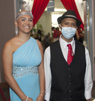 Seventeen-year-old Lizandra Ramirez and fellow oncology patient, Jose Frias, age 17, traded their hospital gowns for formal attire and danced the night away during a special prom night St. Joseph's Children's Hospital in Tampa held for its pediatric patients May 1, 2015.