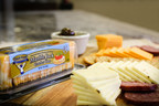 Cracker Cuts cheese slices are conveniently pre-cut and are packaged in a re-sealable container.