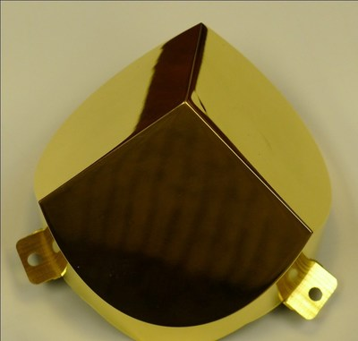 Figure 1. Laser Gold Plated Electroformed Thin Wall Thermal Shield