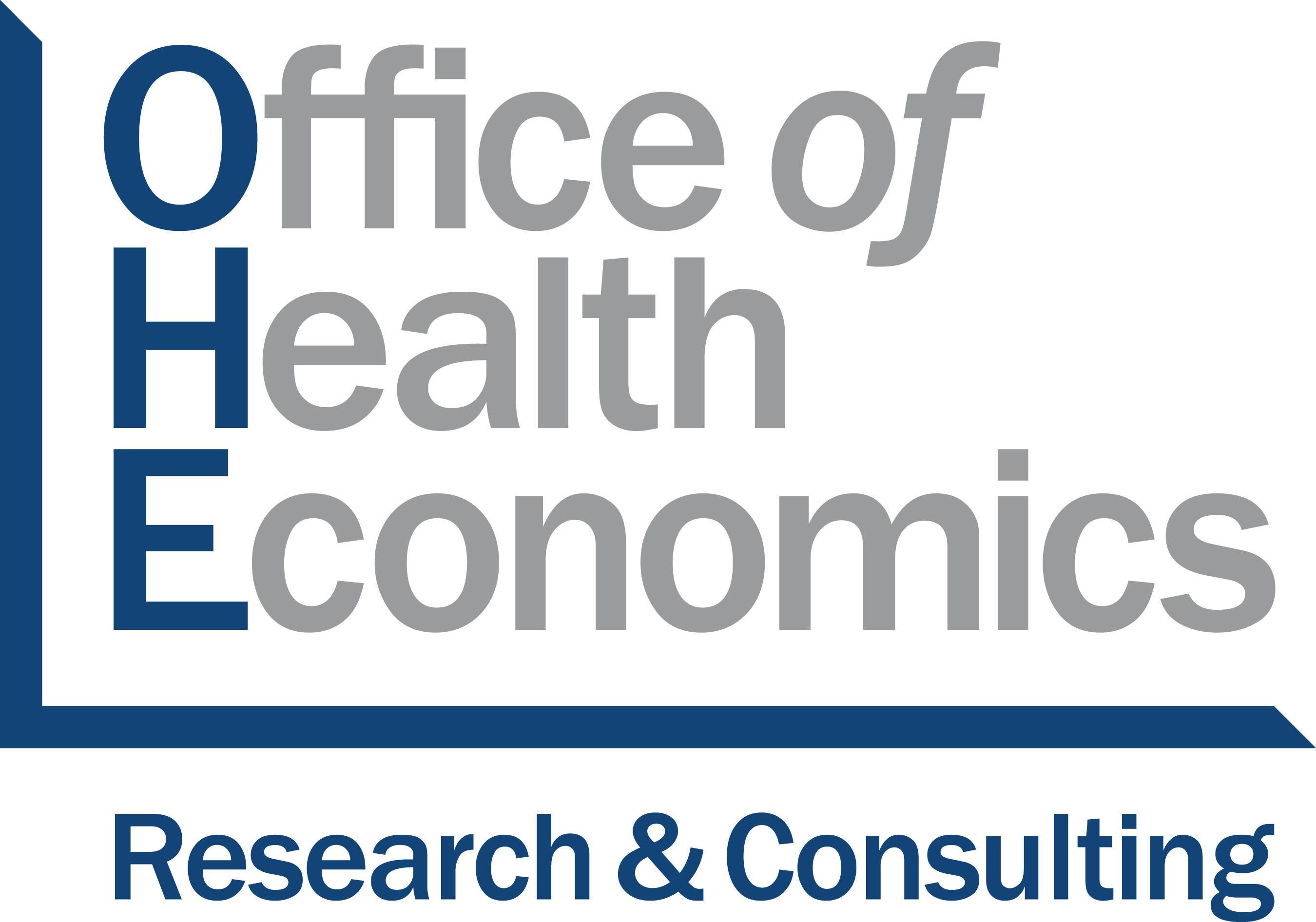 Office of Health Economics. (PRNewsFoto/Office of Health Economics) (PRNewsFoto/OFFICE OF HEALTH ECONOMICS)