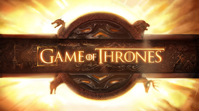 Game Of Thrones opening credits logo.  (PRNewsFoto/Factory Entertainment, Inc.)