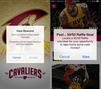 Cavaliers App Powered by Gimbal