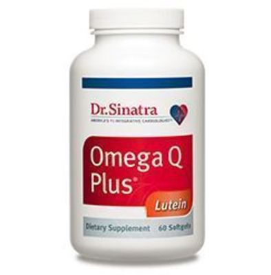 Omega Q Plus Lutein Eye & Heart Health Supplements. (PRNewsFoto/Healthy Directions)