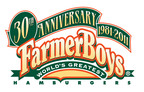Farmer Boys 30th Anniversary logo.  (PRNewsFoto/Farmer Boys Foods, Inc.)