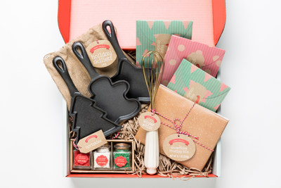 Sweet Holiday cookie gift set.