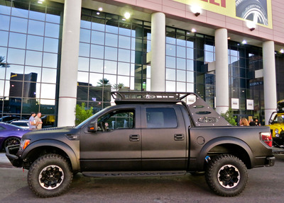 LINE-X PREMIUM-coated Ford F-150 SVT Raptor to be featured at 2012 SEMA.  (PRNewsFoto/LINE-X Protective Coatings)