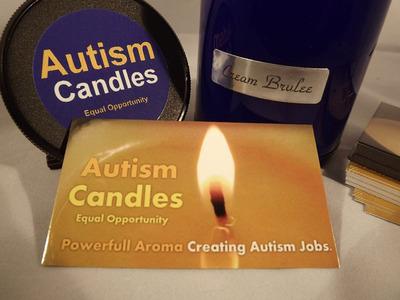 Autism Candles - image 1.  (PRNewsFoto/Autism Candles)