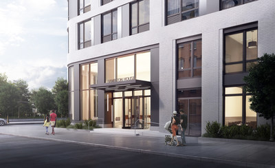 Hamilton House launches in Jersey City with  modern rental apartments and amenities.