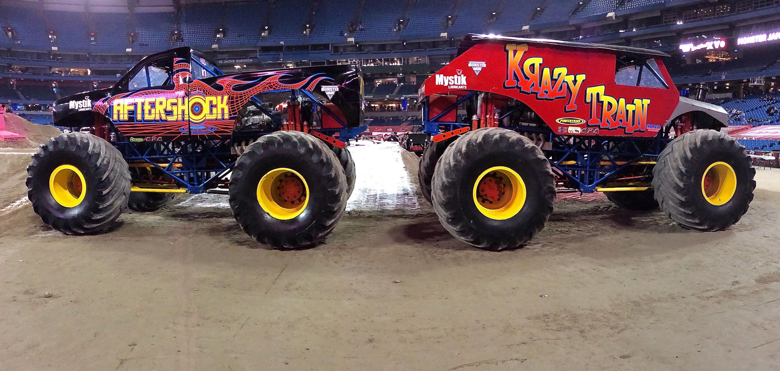 Mystik(R) Lubricants Partners With AfterShock Monster Truck.  (PRNewsFoto/Mystik Lubricants)