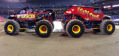 Mystik(R) Lubricants Partners With AfterShock Monster Truck.  (PRNewsFoto/Mystik Lubricants)