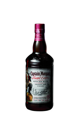 To commemorate Captain Henry Morgan's historic battle in Panama, Captain Morgan today announced the release of its limited edition Captain Morgan(R) Sherry Oak Finish Spiced Rum.  (PRNewsFoto/Diageo)