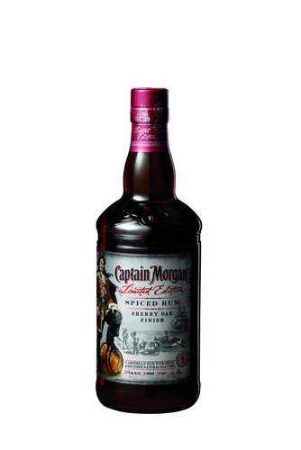 New Limited Edition Captain Morgan® Sherry Oak Finish Spiced Rum Inspired By Namesake's Adventurous