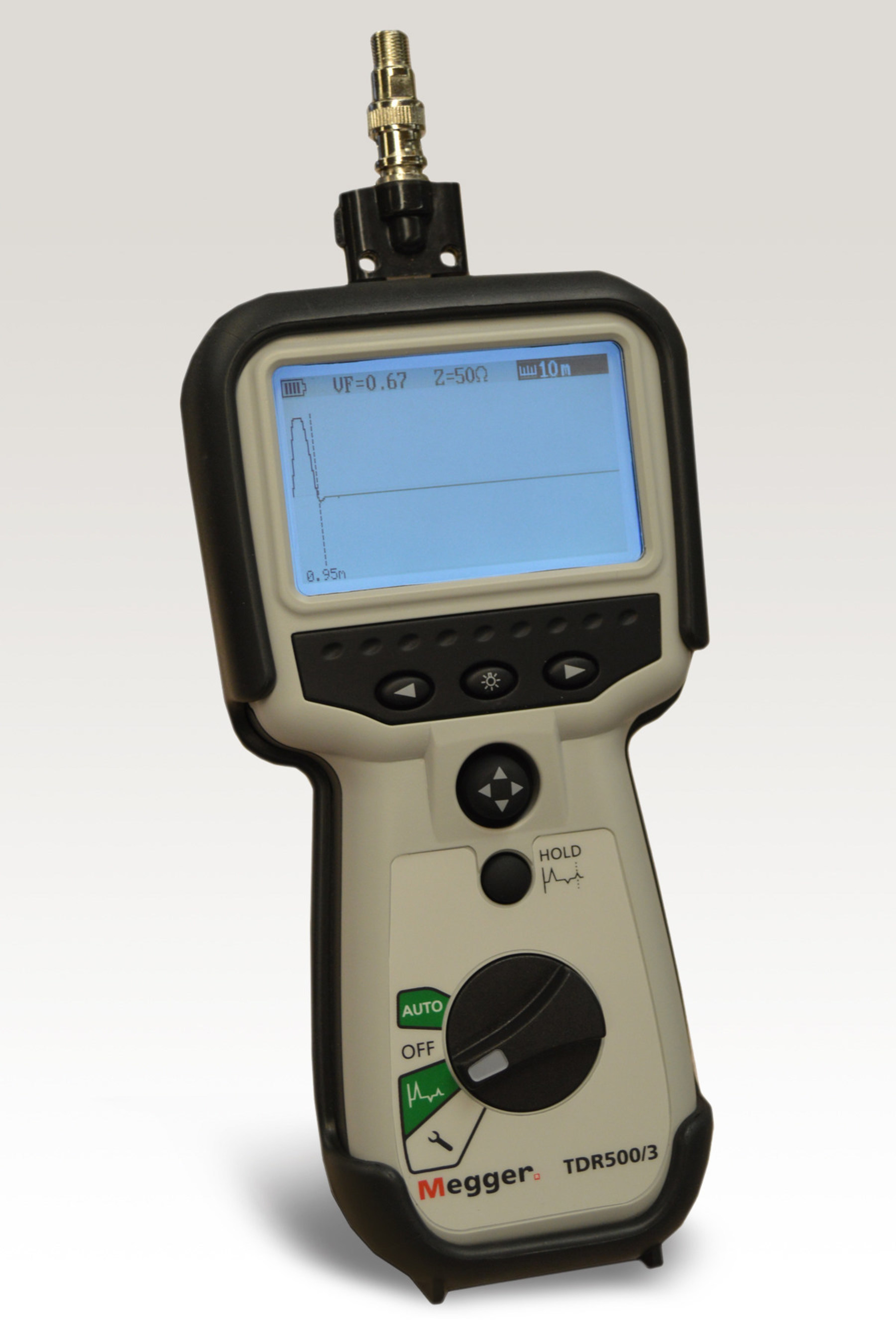 Handheld TDR from Megger Used in the CATV Industry