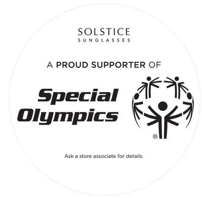 Solstice Sunglasses and Safilo Group Show Their Support of Special Olympics
