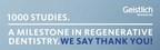 1,000 Studies. A Milestone in Regenerative Dentistry.